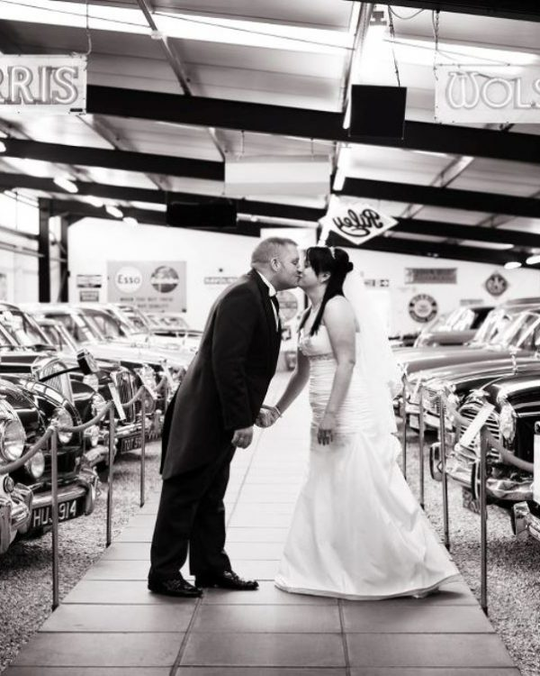 haynes motor museum wedding venue