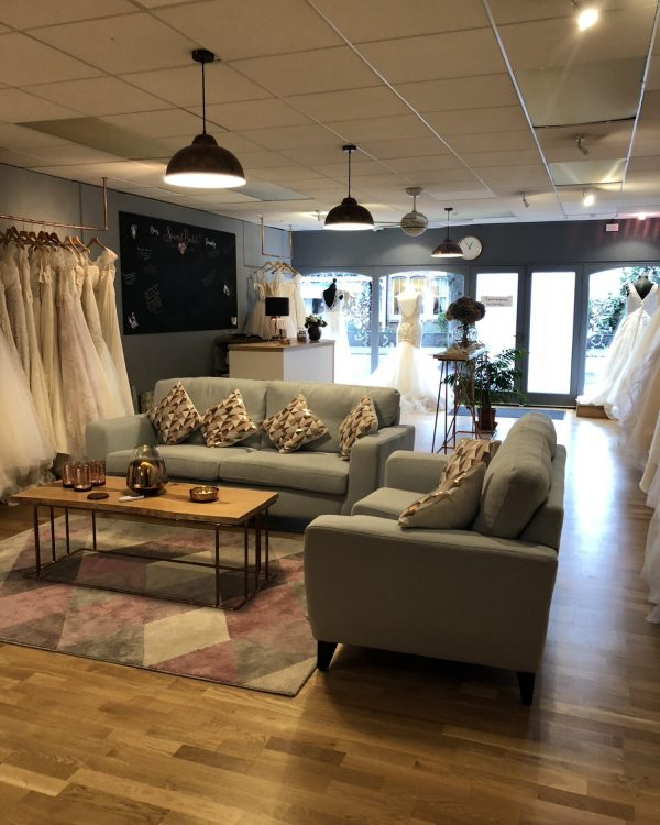 somerset bridal boutique interior