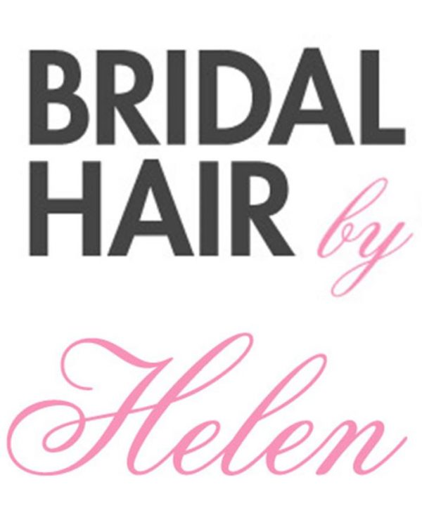 bridal hair by helen logo