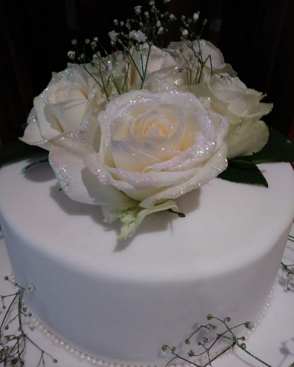 more cake taunton white roses on cake