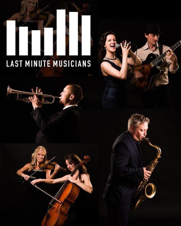 last minute musicians composite image