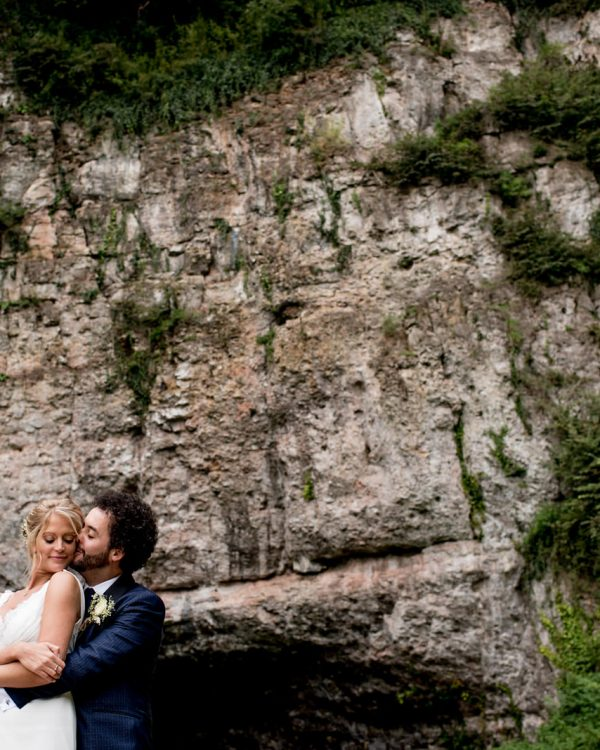 wookey hole somerset wedding couple