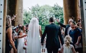 Dominika Scheibinger Leigh Court Bride Groom Wedding Couple