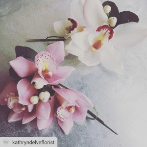 kathryn delve florist orchids instagram somerset wedding
