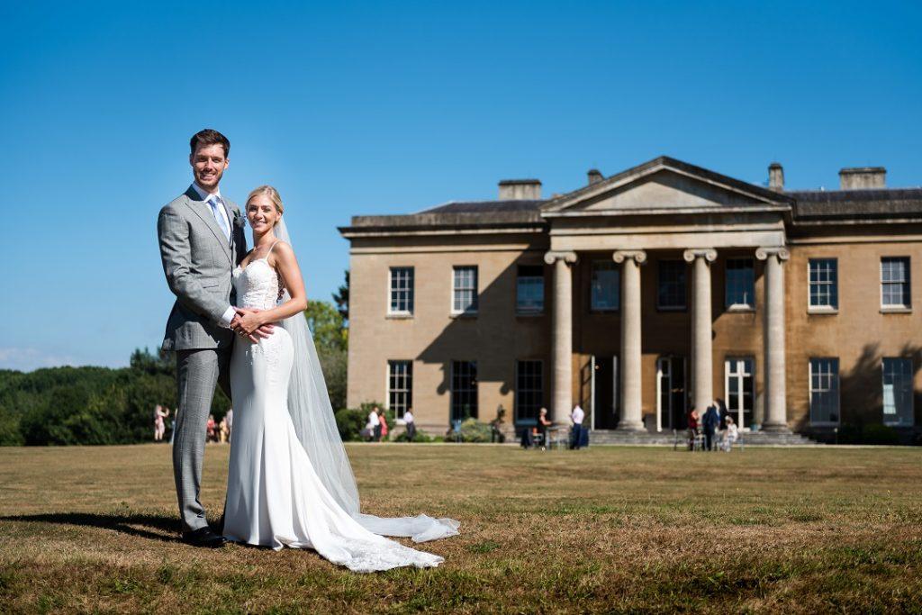 Avenue White Leigh Court Wedding Couple